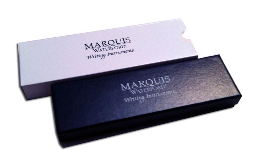 Waterford Marquis Arcadia II Chrome Dollar Ballpoint Pen gift box