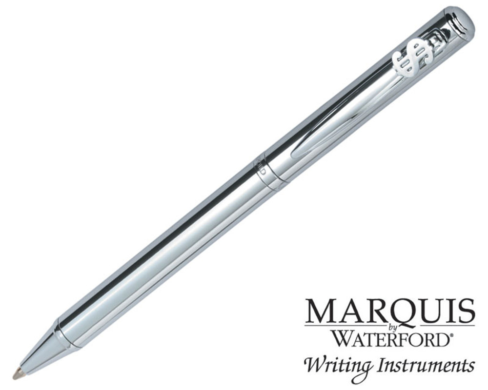Waterford Marquis Arcadia II Chrome Dollar Ballpoint Pen