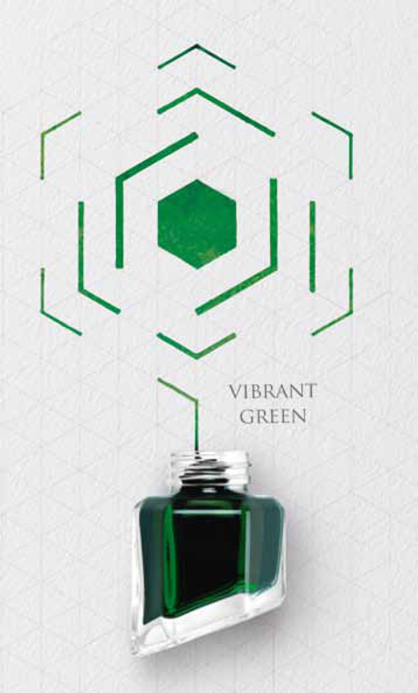 Caran d'Ache Vibrant Green Ink Bottle