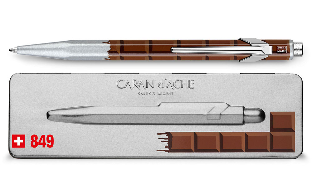 Caran d'Ache 849 TOTALLY SWISS CHOCOLATE ballpoint pen