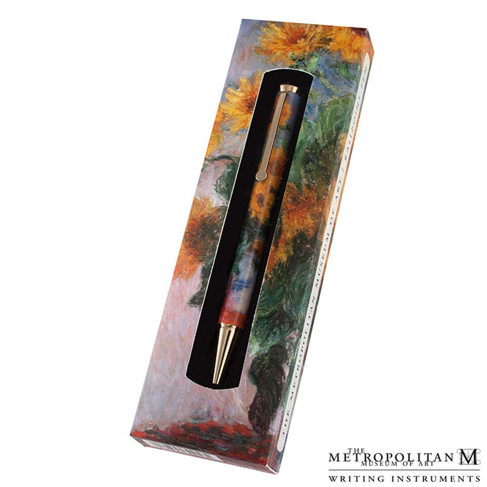 The Metropolitan Museum of Art Claude Monet Sunflowers Ballpoint Pen