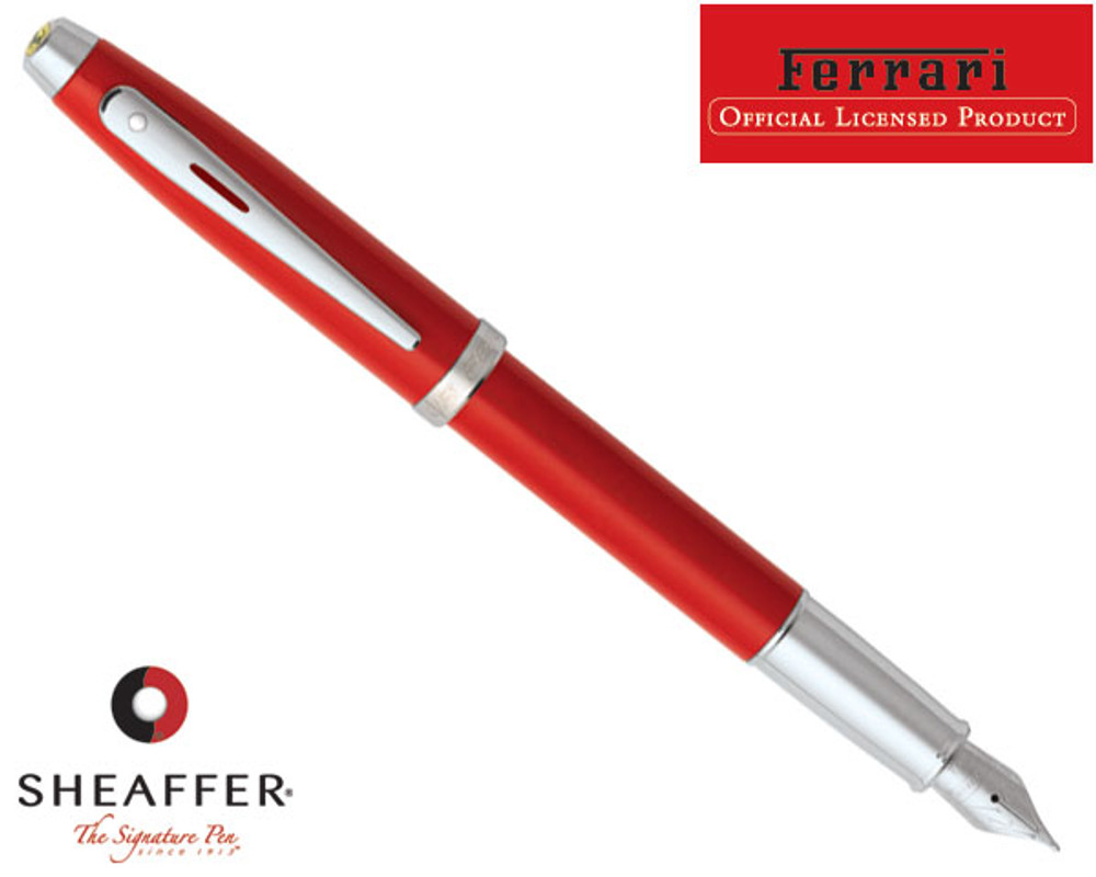 Sheaffer Ferrari 100 Red Fountain Pen
