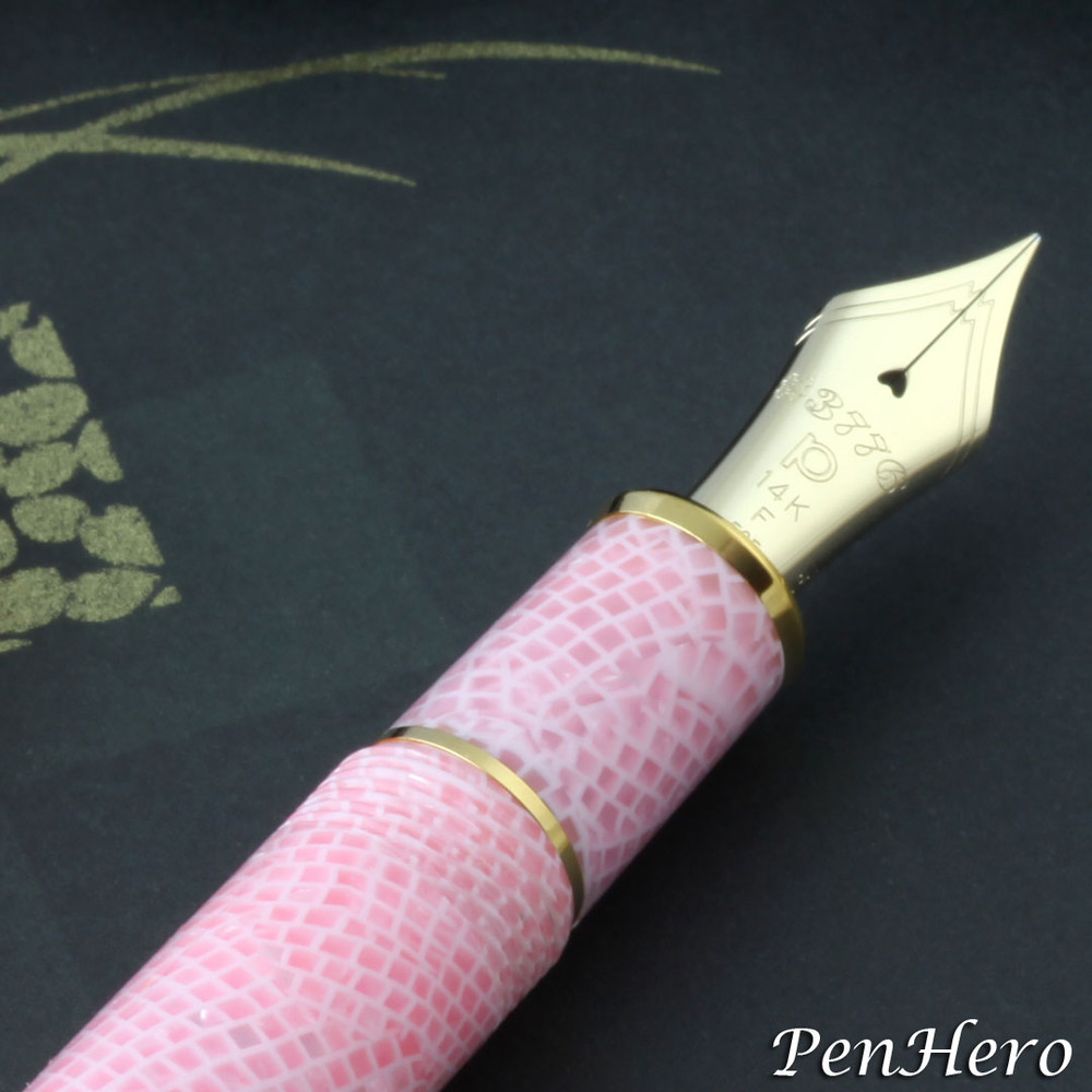 Platinum #3776 Celluloid Cherry Blossom Fountain Pen