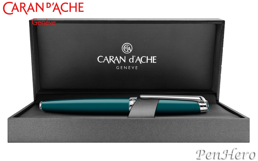 Caran d'Ache Leman Green Amazon Fountain Pen