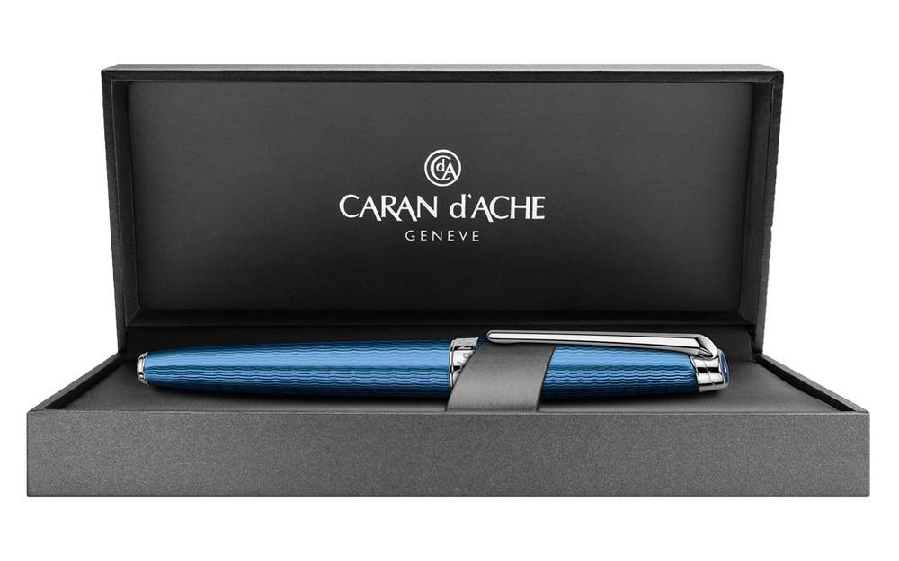 Caran d'Ache Leman Grand Bleu Fountain Pen Fine