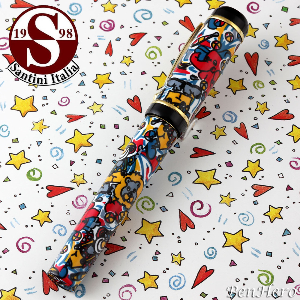 Santini Italia Circus Rollerball Pen