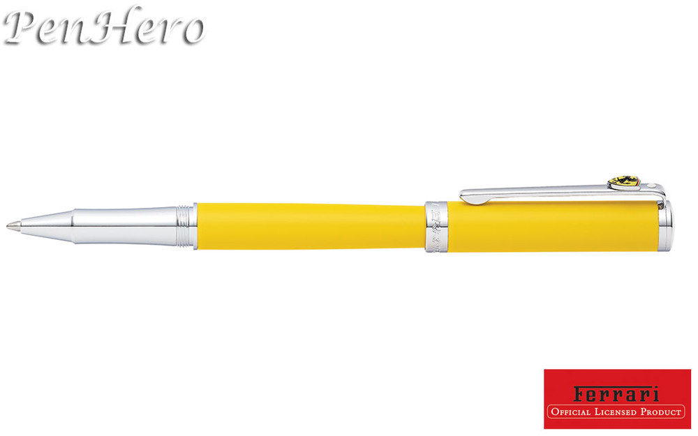 Sheaffer Ferrari Intensity Satin Yellow Ballpoint Pen