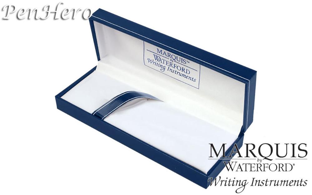 Waterford Marquis Claria Chrome Fountain Pen