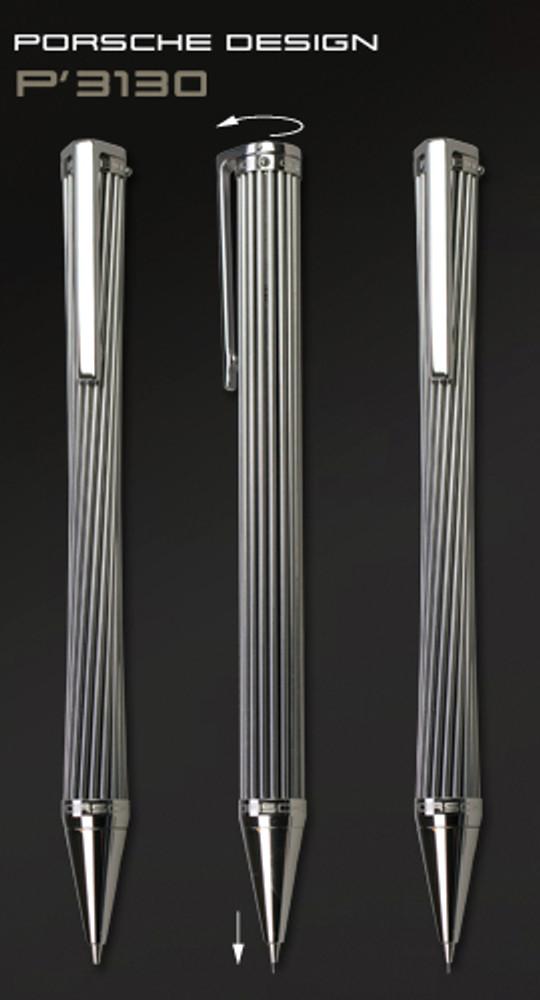 Porsche Design P3130 Mikado 0.7mm Pencil operation
