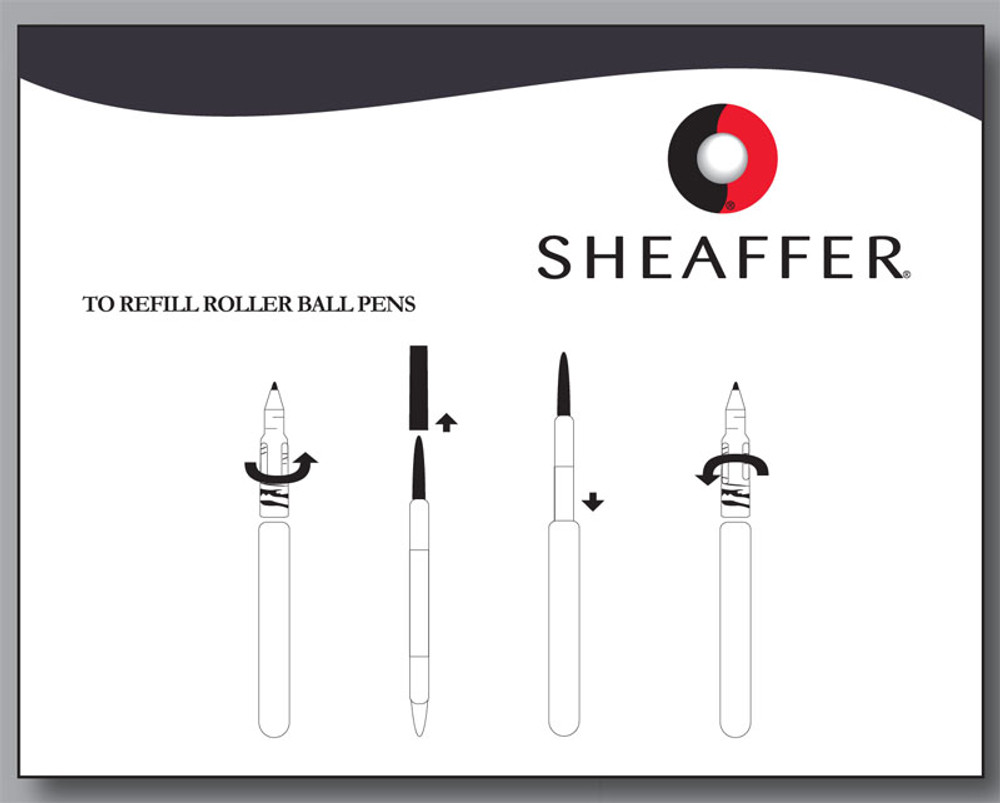 Sheaffer rollerball pen instructions