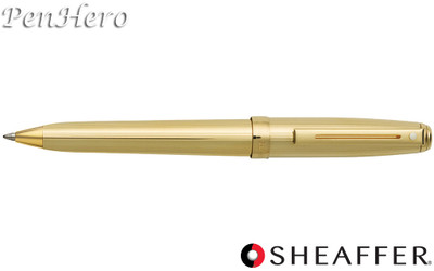 Sheaffer Prelude Fluted 22 Karat Gold Plate Ballpoint Pen