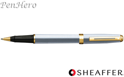 Sheaffer Prelude Brushed Chrome G/T Rollerball Pen