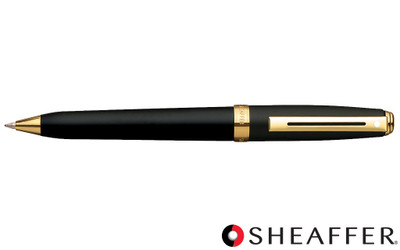 Sheaffer Prelude Black Matte G/T Ballpoint Pen