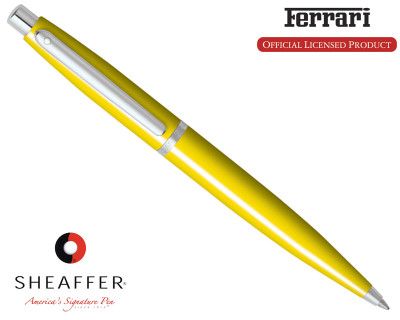 Sheaffer Ferrari VFM Gloss Yellow Ballpoint Pen