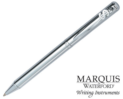 Waterford Marquis Arcadia II Chrome Dollar Ballpoint Pen