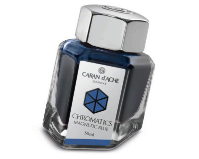 Caran d'Ache Magnetic Blue Ink Bottle