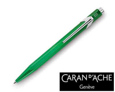 Caran d'Ache 849 Metal X Green Ballpoint Pen