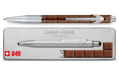 Caran d'Ache 849 TOTALLY SWISS CHOCOLATE ballpoint pen