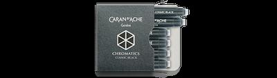 Caran d'Ache Cosmic Black Ink Cartridges