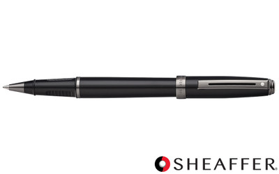 Sheaffer Prelude Black Lacquer Gunmetal Trim Rollerball Pen