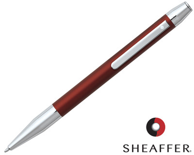 Sheaffer Defini Matte Red Ballpoint Pen