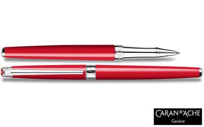 Caran d'Ache Leman Slim Scarlett Red Rollerball Pen
