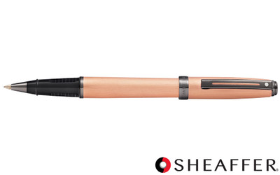 Sheaffer Prelude Brushed Copper Tone PVD Gunmetal Trim Rollerball Pen