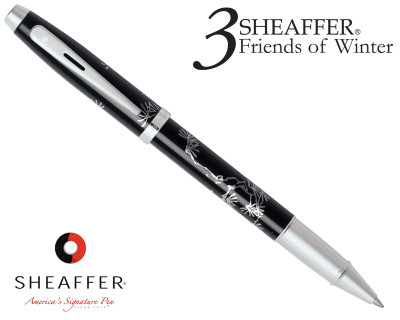 Sheaffer 100 3 Friends of Winter, Pine Design Rollerball Pen