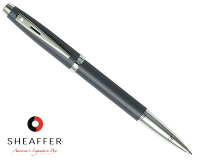 Sheaffer 100 Matte Grey Rollerball Pen