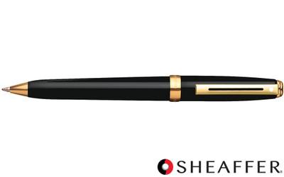 Sheaffer Prelude Black Lacquer G/T Ballpoint Pen