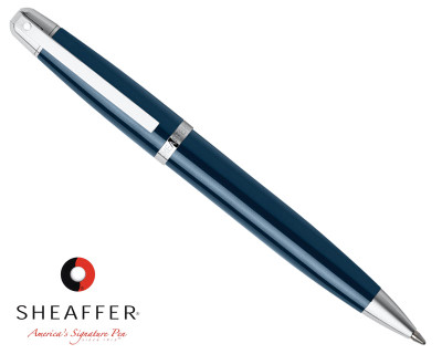 Sheaffer 500 Gloss Blue Ballpoint Pen