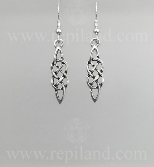 Classic knotwork earrings