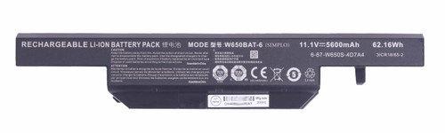 Eluktronics W650KK1 Replacement Battery