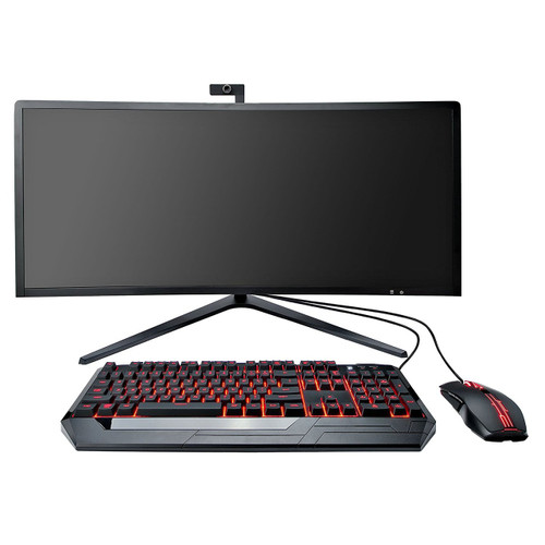 """Eluktronics 34"""" Curved All-in-One Performance Gaming Desktop"""
