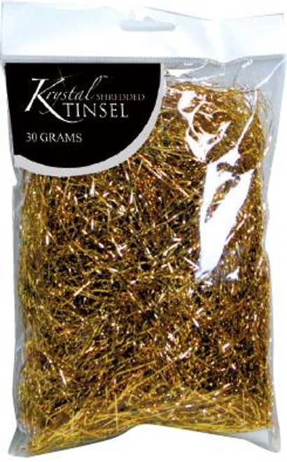 TINSEL SHRED MET GOLD 30G