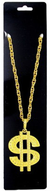 Big Necklace (Gold Dollar Sign)