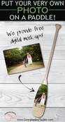 Custom Wedding Paddle