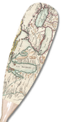 Great Lakes Map (French) Paddle