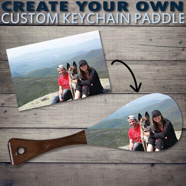 Custom Keychain Paddle