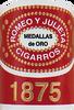 Romeo y Julieta 1875 Deluxe # 1 en Tubo 50x7