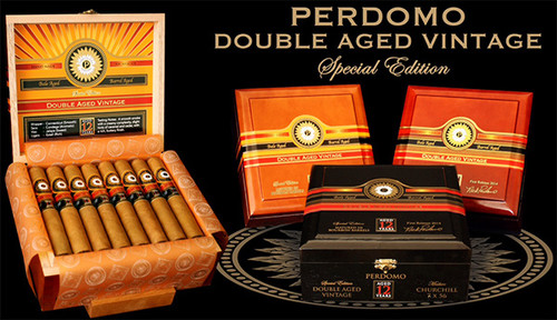 Perdomo Double Aged 12 Year Vintage Cigars Robusto