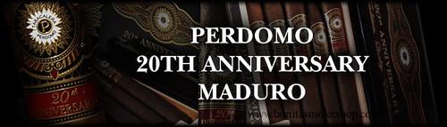 Perdomo 20th Anniversary Maduro Corona Grande 6548