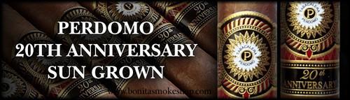 Perdomo 20th Anniversary Sun Grown Corona Grande 6548