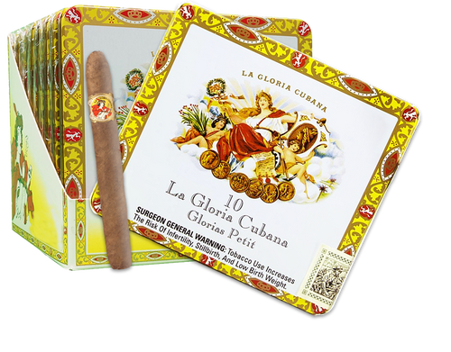 La Gloria Cubana Natural Glorias Petite Tins