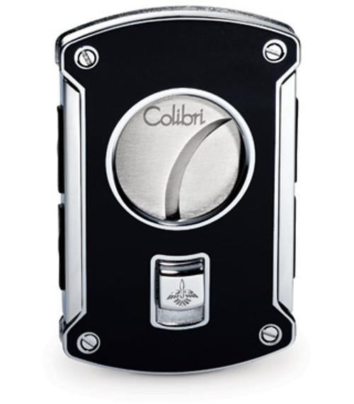 Colibri Slyce Black Lacquer Cigar Cutter