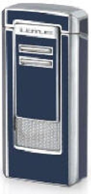 Lotus Commander Lighter  Navy Blue & Chrome