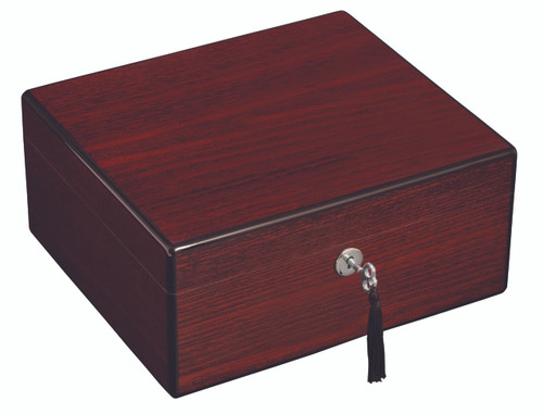 New 40 Ct The Oxford Diamond Crown cigar humidors