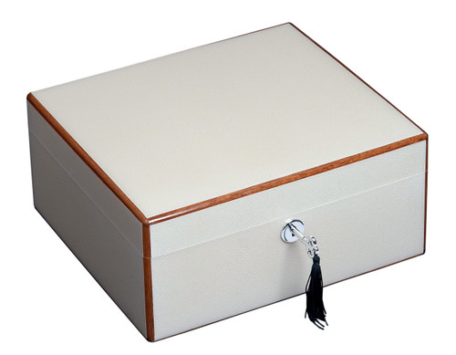 New 40 Ct The Peabody Diamond Crown cigar humidors