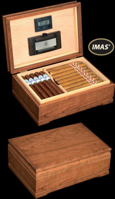 The Jefferson Diamond Crown American Series Cigar Humidors