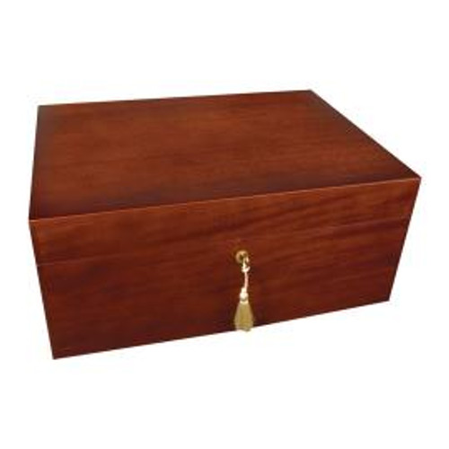 Savoy Executive Matte Mahogany Humidor (Small)